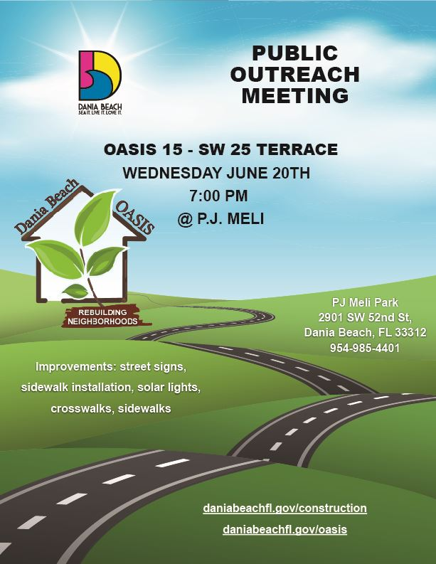 Public outreach meeting Oasis 15