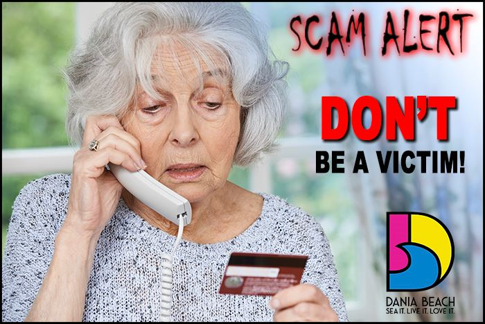Dania Beach Scam Alert - Don't be a victim!