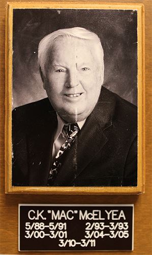 Charles Mac McElyea Dania Beach Mayor 1988 to 2005