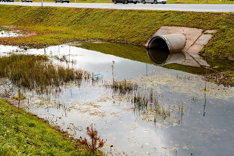 Discharges Into Storm Drains Dania Beach Water