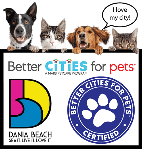Dania Beach Certified Better Cities for Pets T