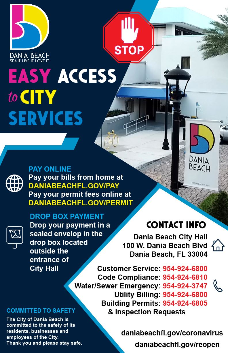 Access to City Services  & Pay Bills Remotely