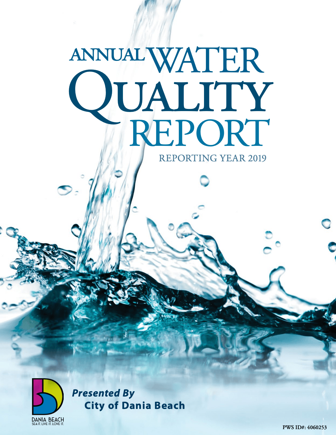 The City of Dania Beach's 2019 Water Quality Report