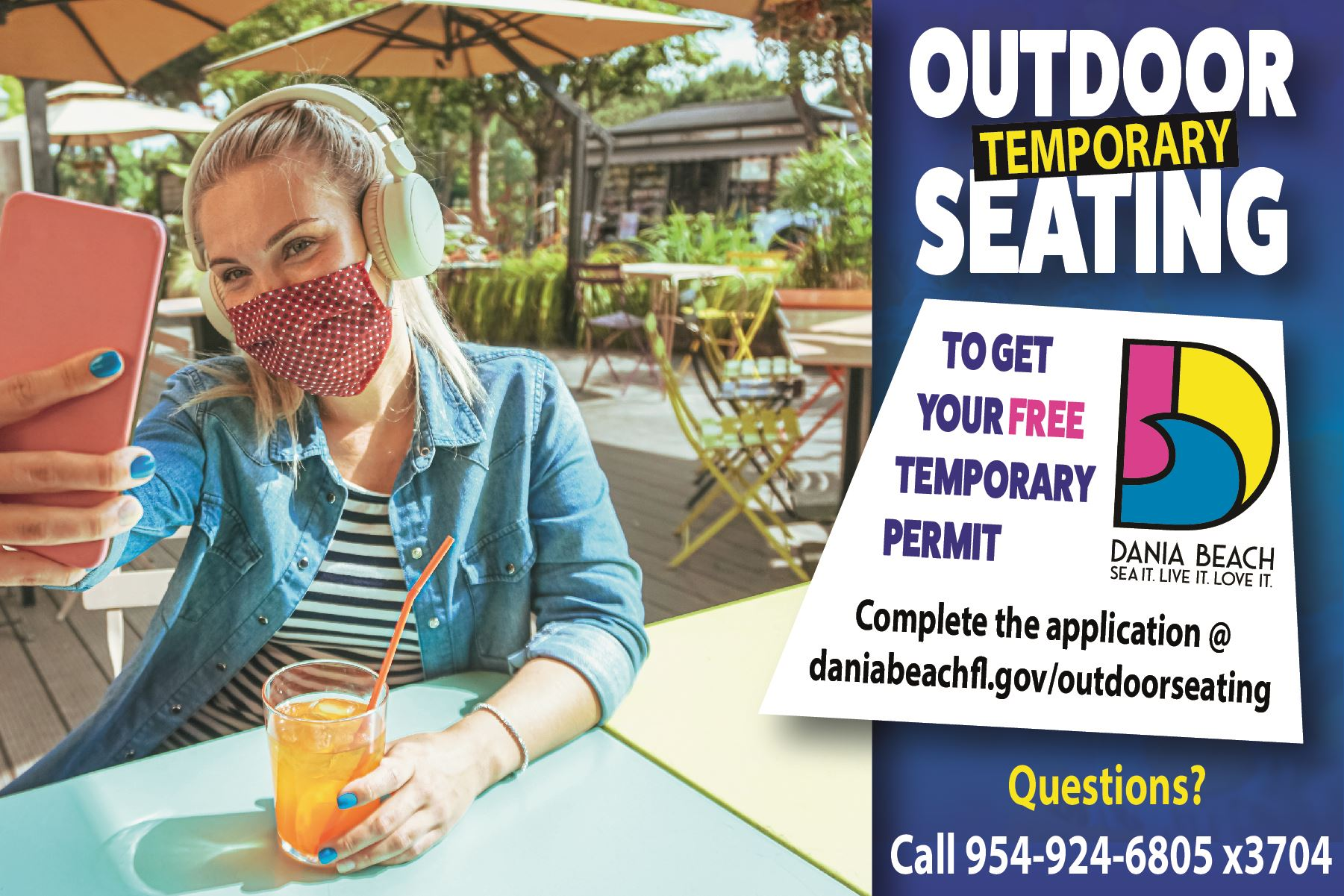 Dania Beach Temporary Outdoor Seating Permit