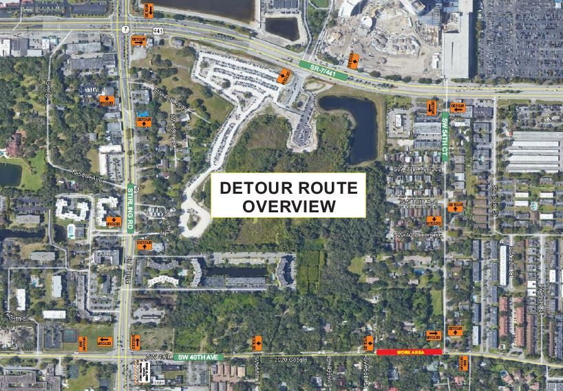 M.O.T. Plan L Detour- Road Closure (Sewer)(rev.1)-2 in Dania Beach Florida