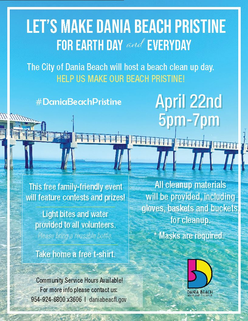 Dania Beach Pristine Earth Day