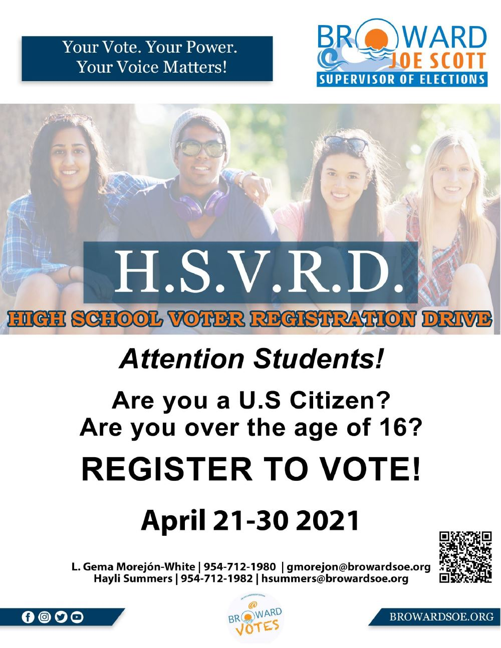 HSVRD Online Voter Registration Instructions
