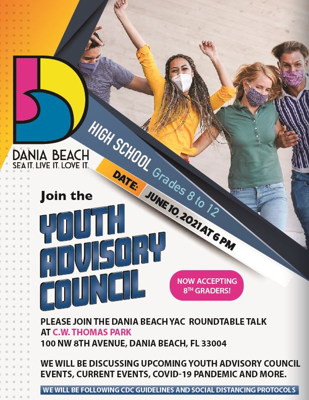 Youth Advisory Council May 2021