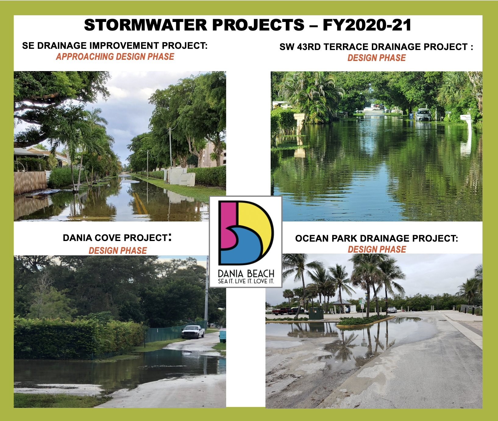 Dania Beach Capital Improvement Projects